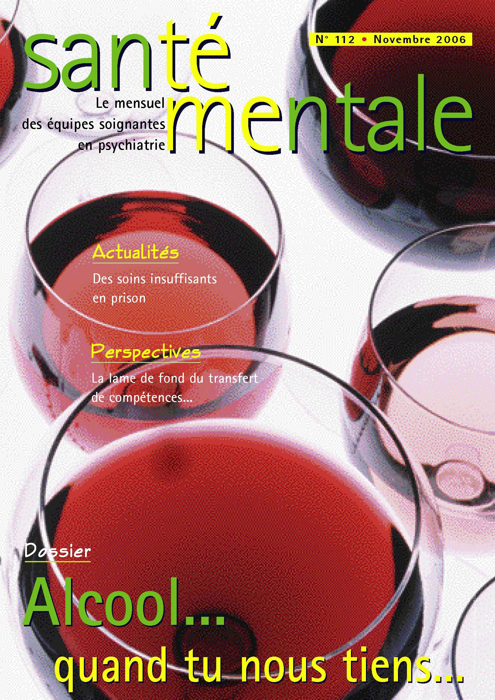 Couverture N°112 novembre 2006