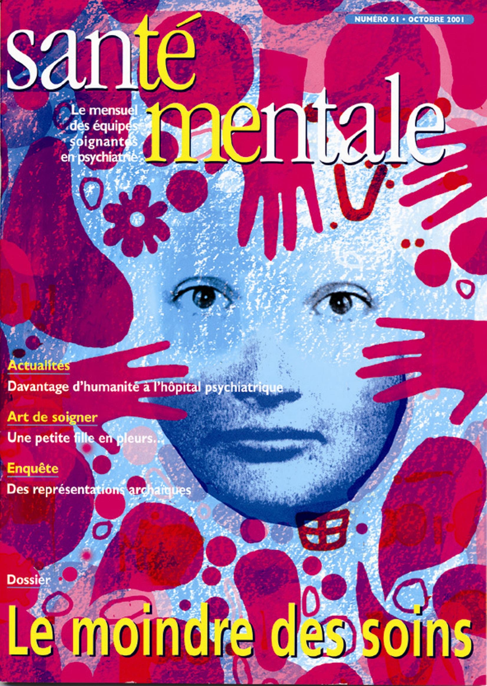 Couverture N°61 octobre 2001