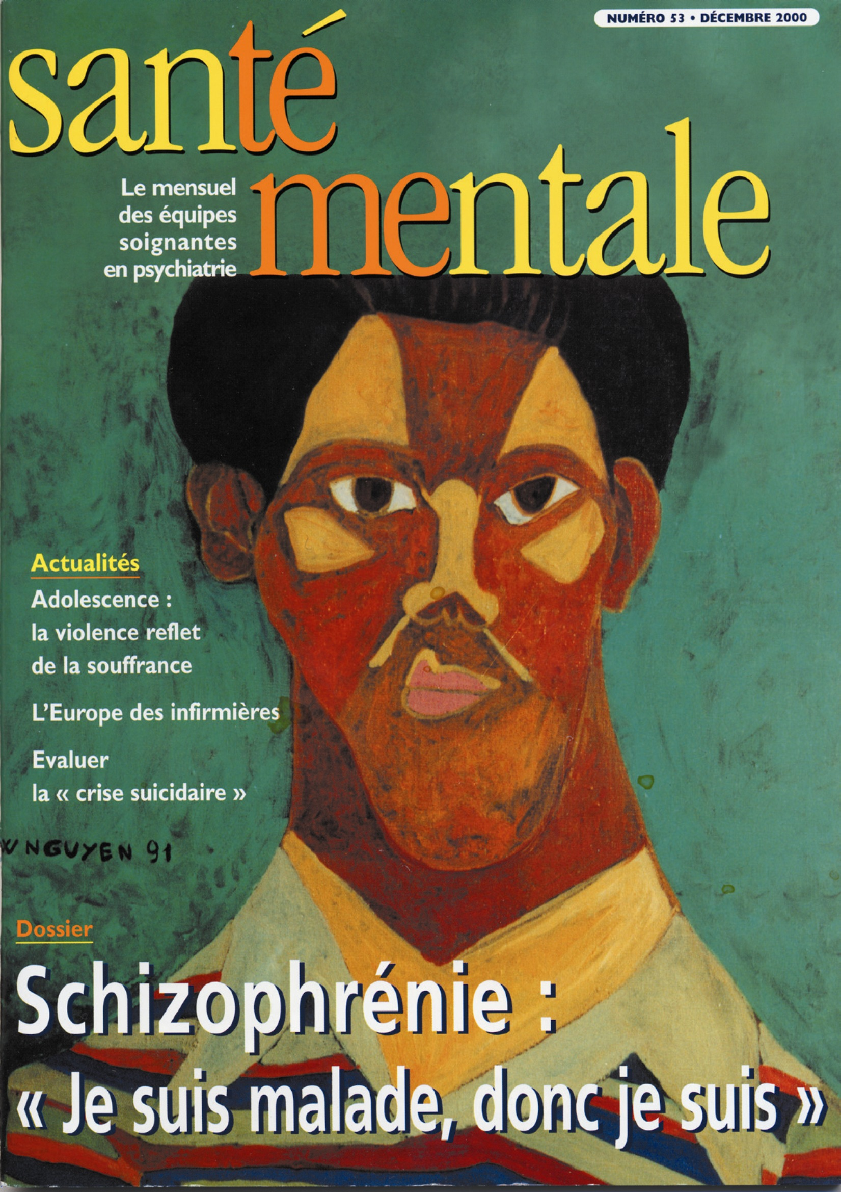 Couverture N°53 décembre 2000