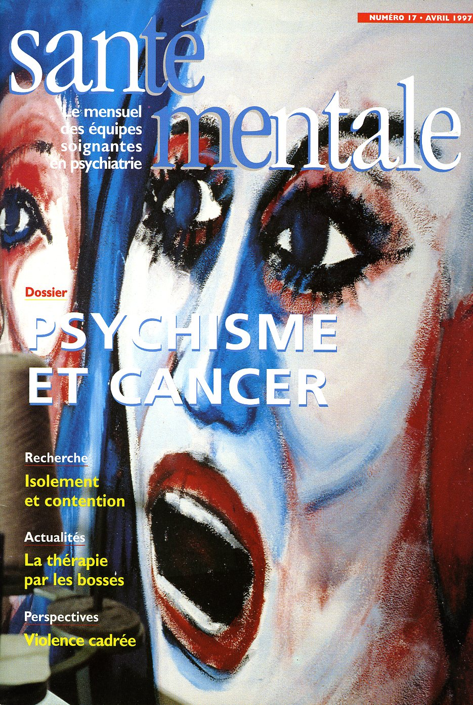 Couverture N°17 Avril 1997