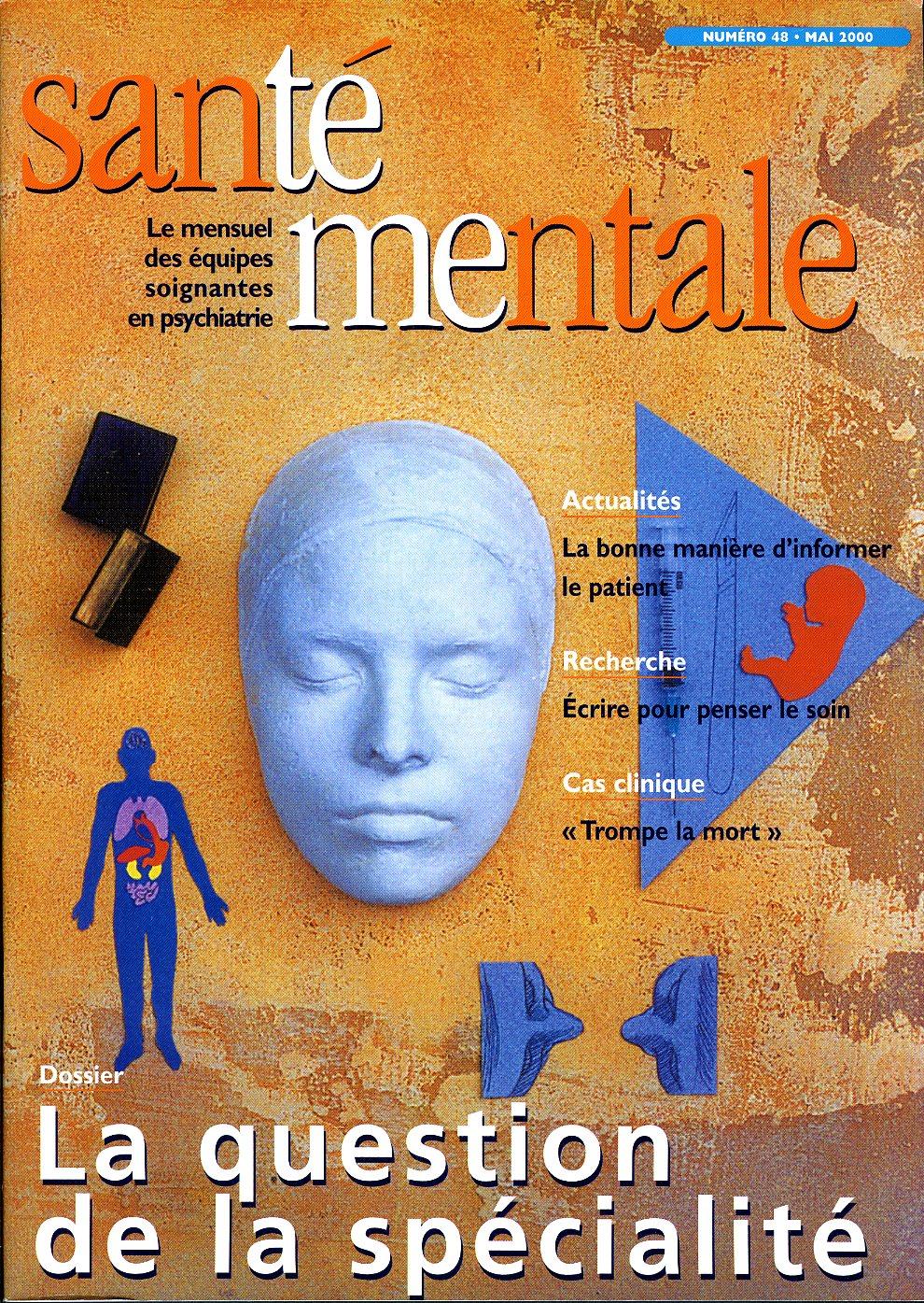 Couverture N°48 mai 2000