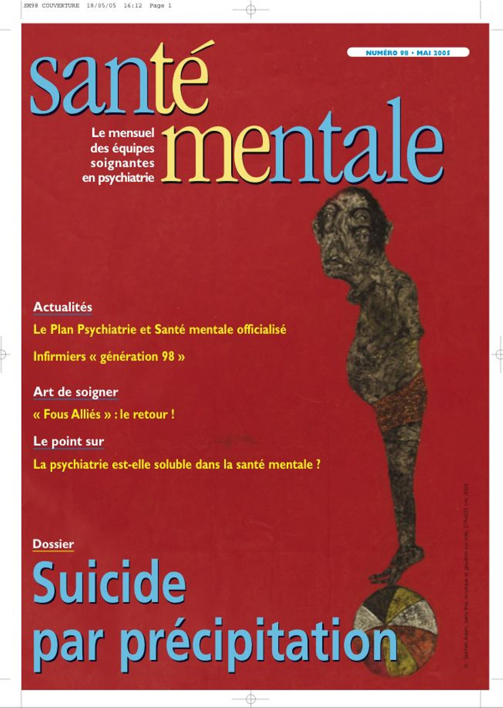 Couverture N°98 MAI 2005