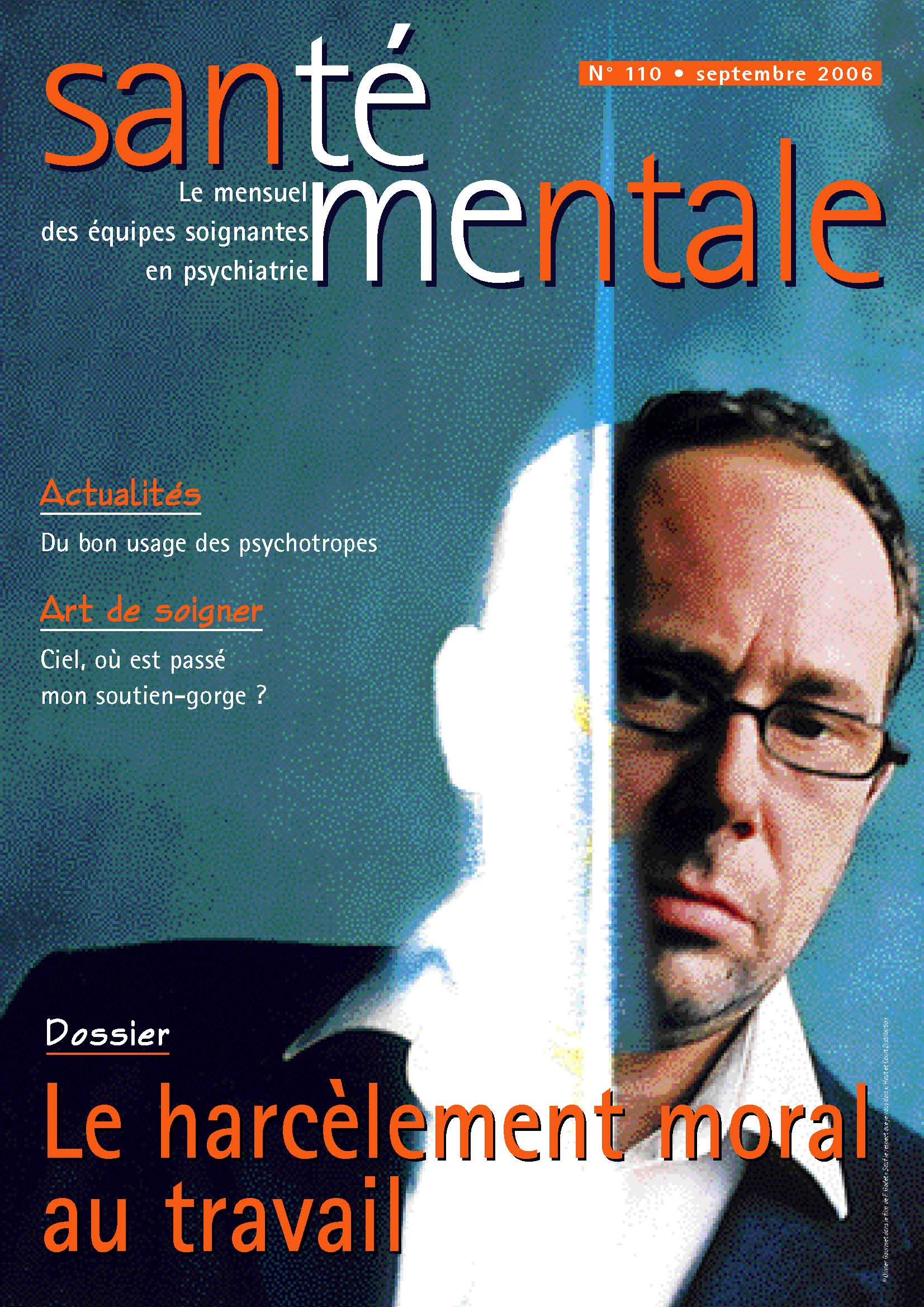 Couverture N°110 septembre 2006