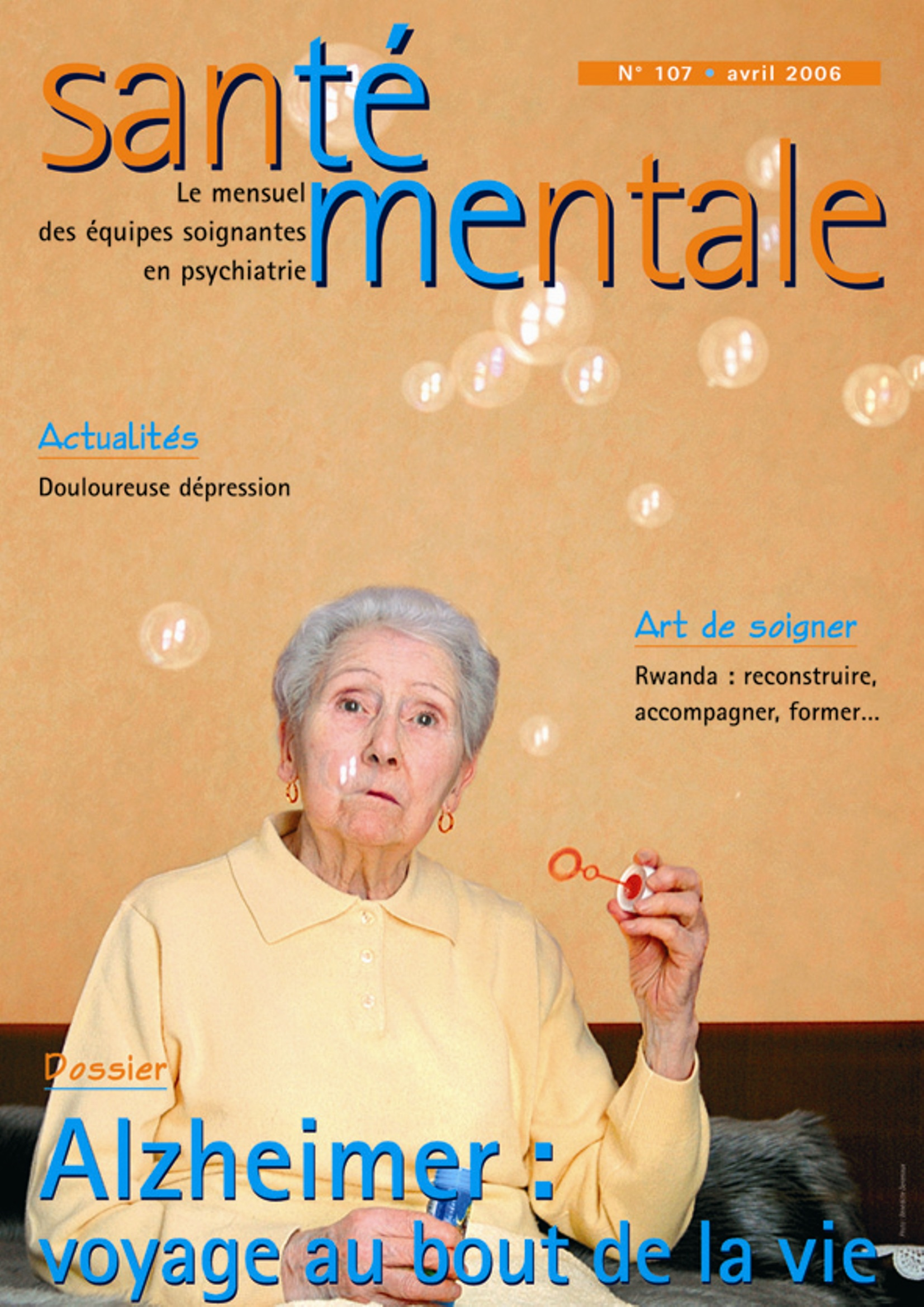 Couverture N°107 avril 2006