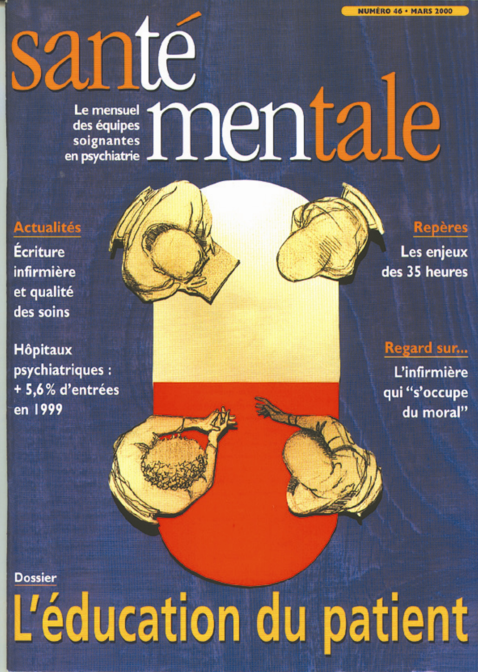 Couverture N°46 mars 2000