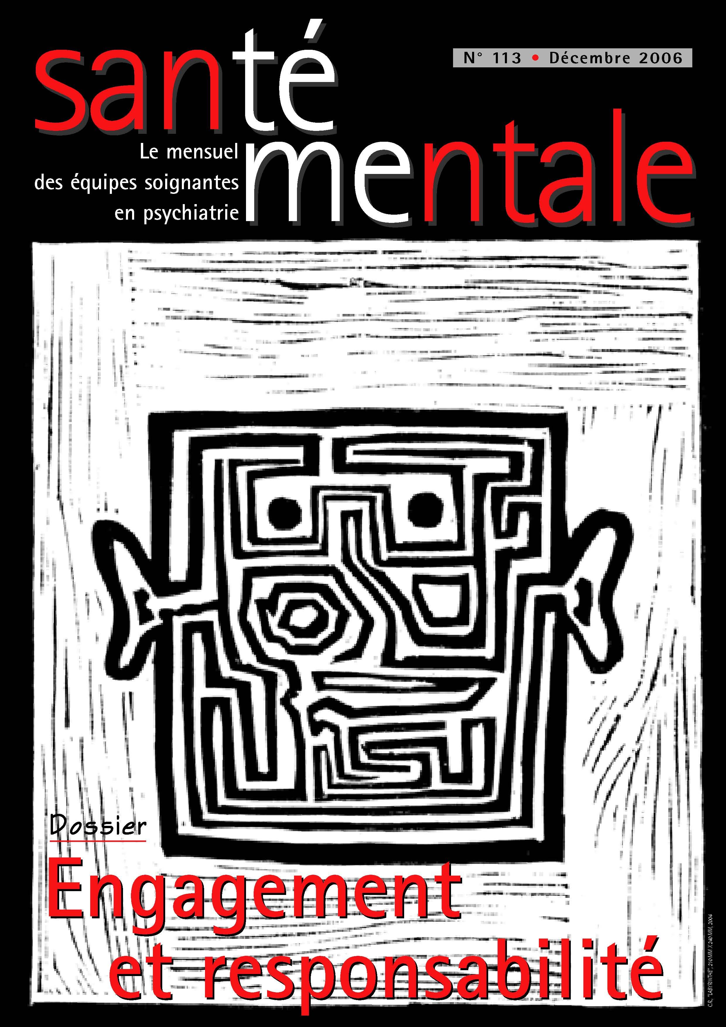 Couverture N°113 décembre 2006
