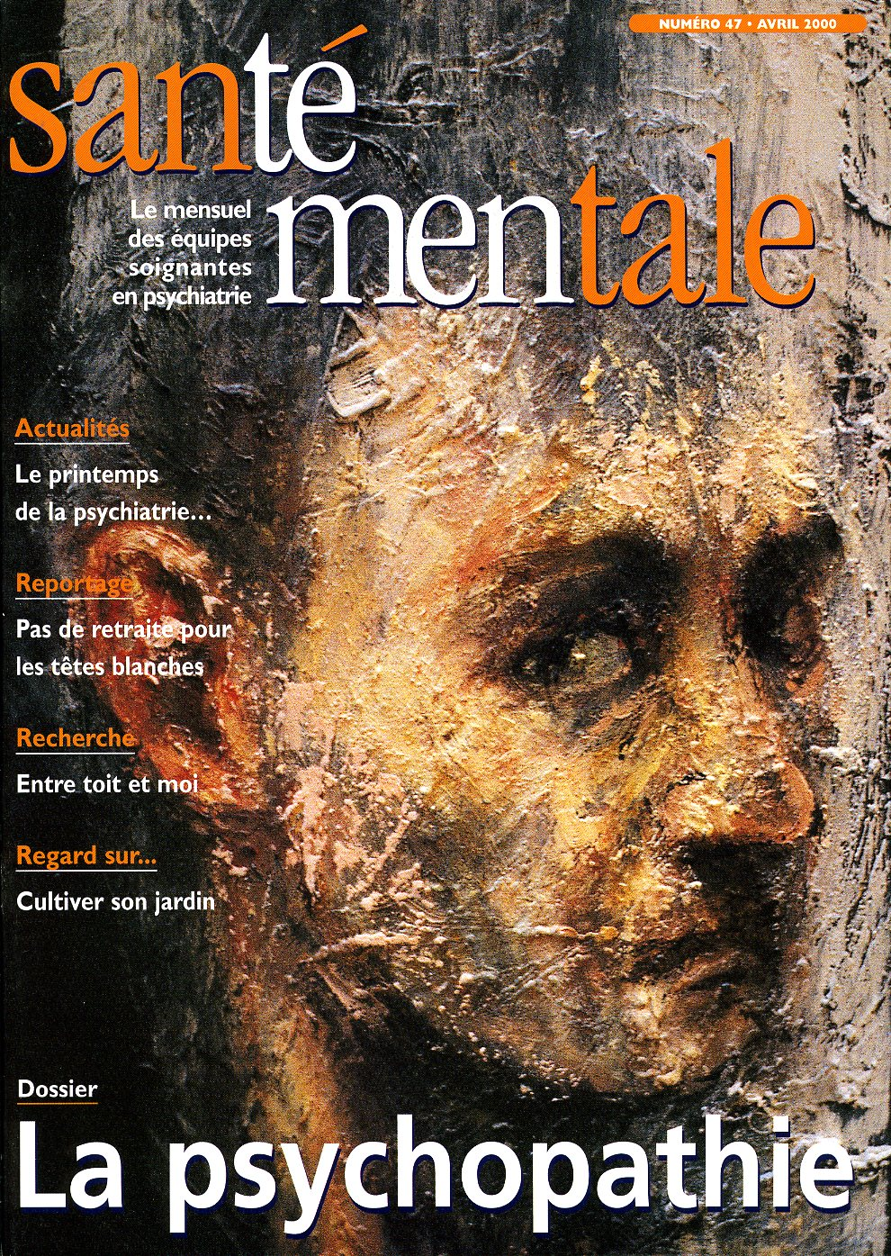 Couverture N°47 avril 2000