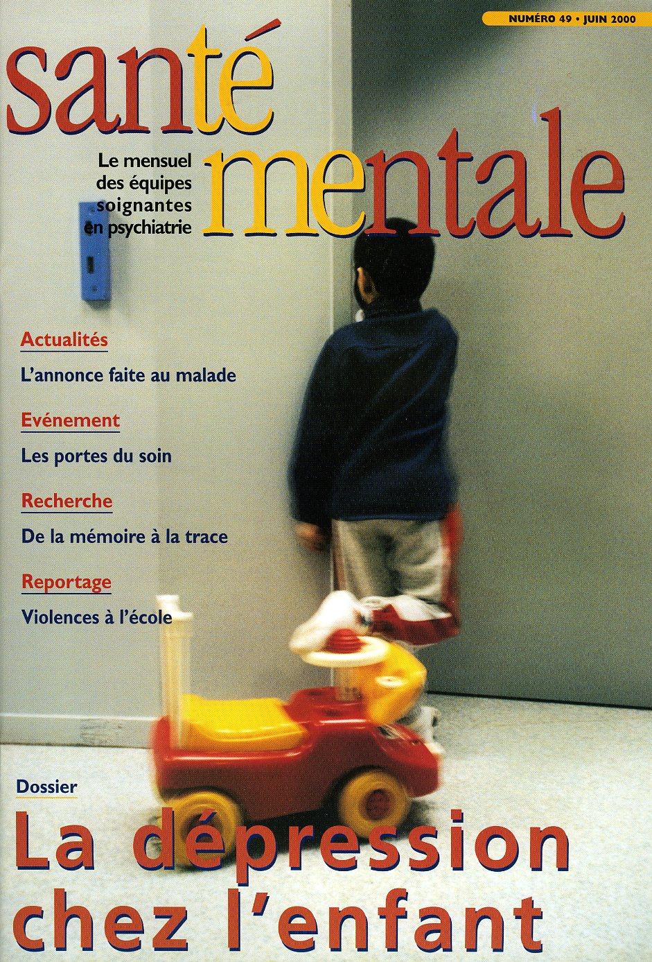 Couverture N°49 juin 2000