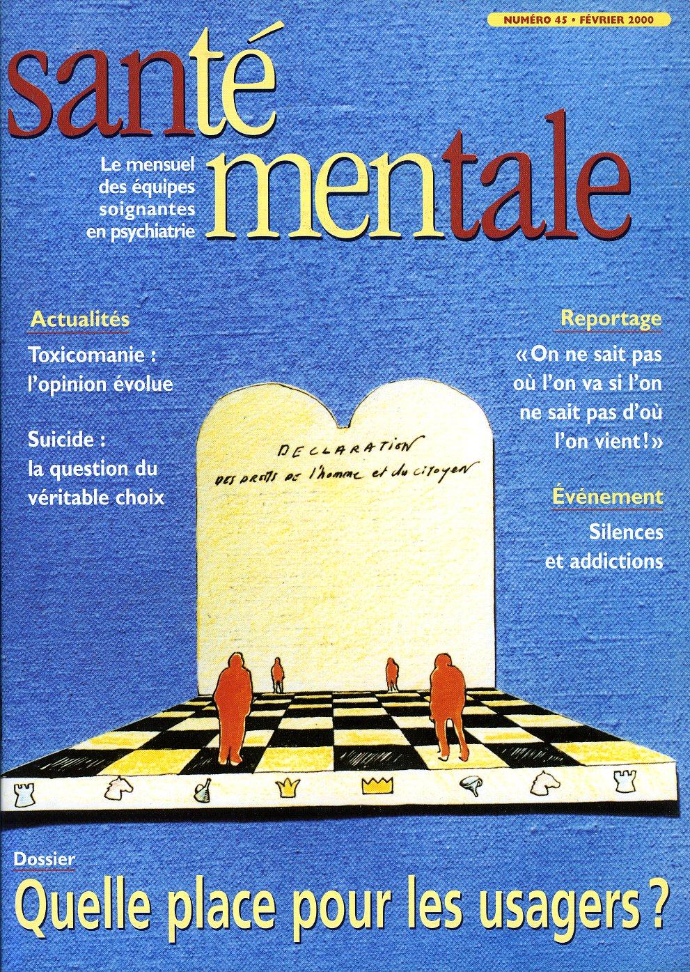 Couverture N°45 février 2000