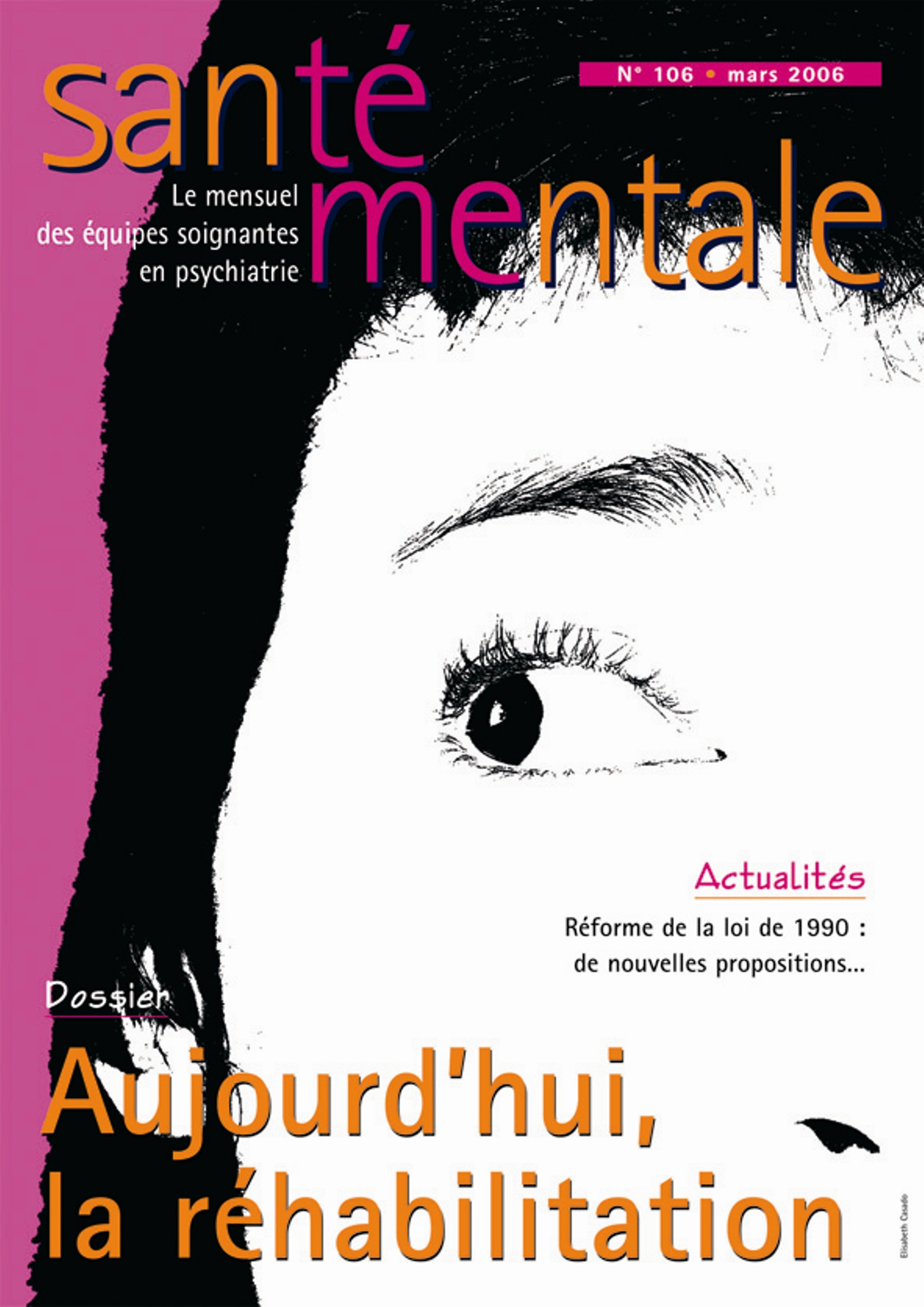 Couverture N°106 mars 2006