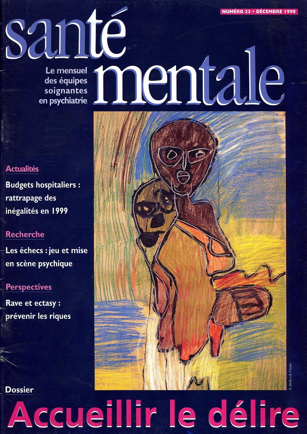 Couverture N°33 décembre 1998