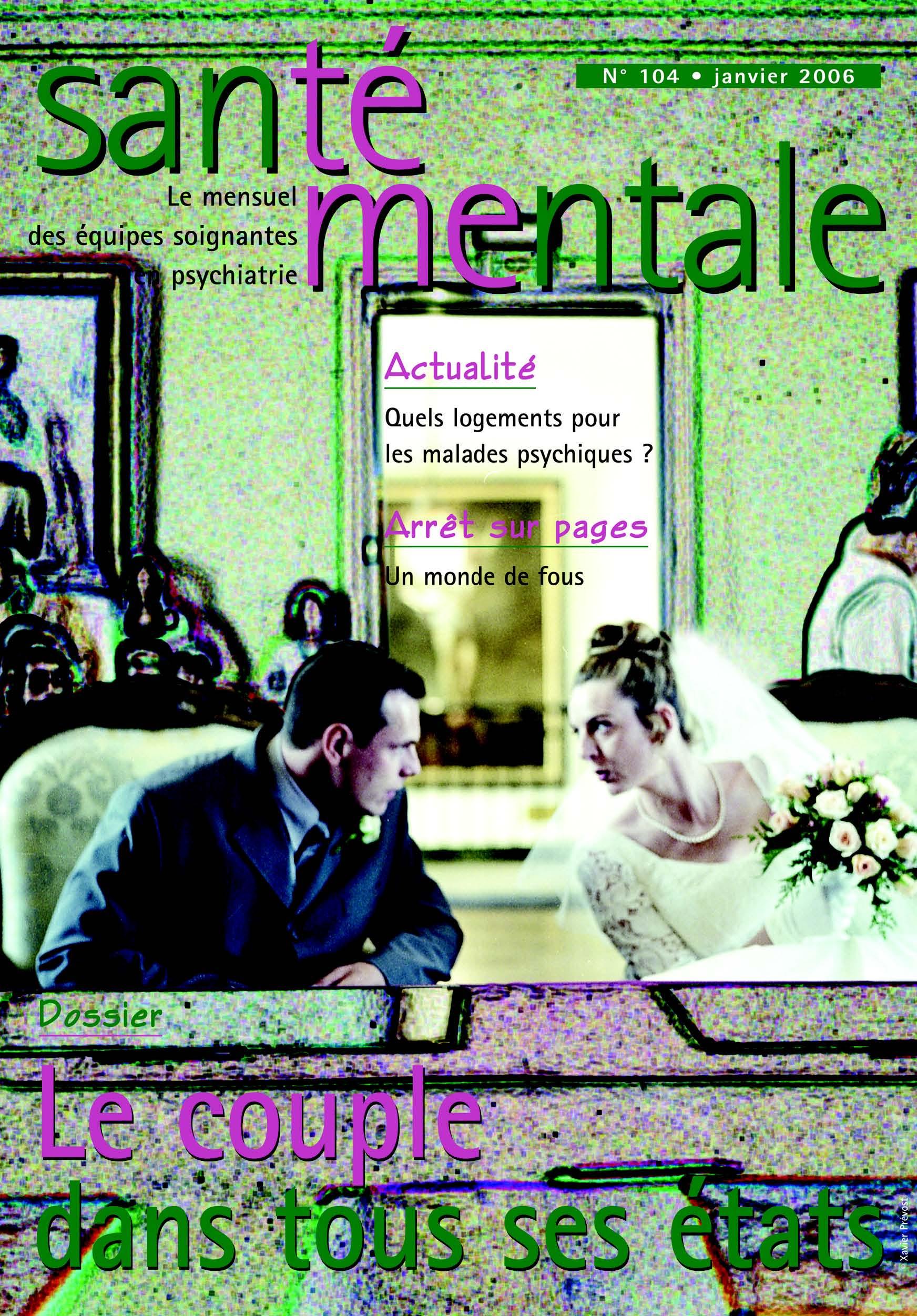 Couverture N°104 janvier 2006