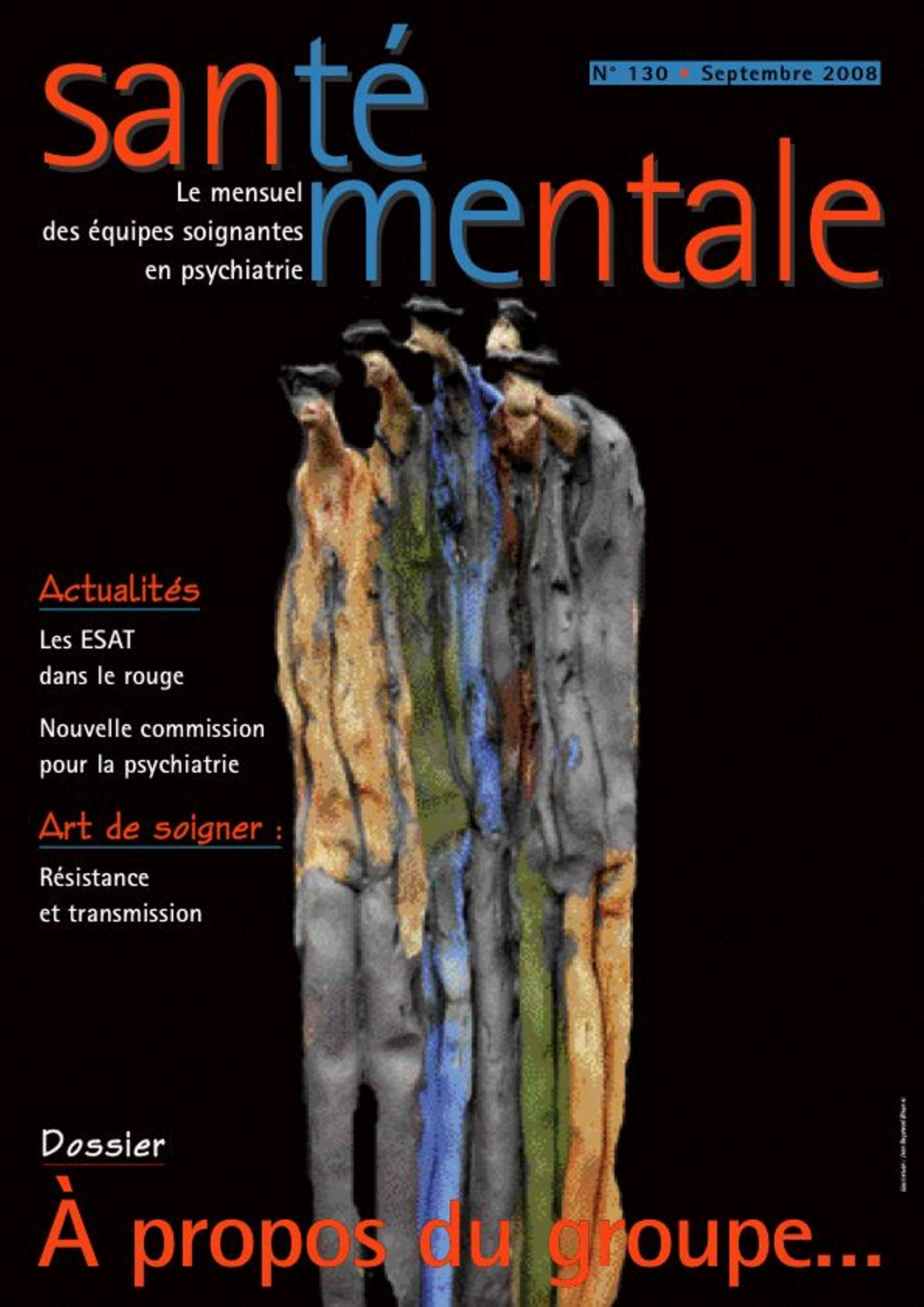Couverture N°130 septembre 2008