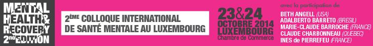 Colloque sante mentale luxembourg