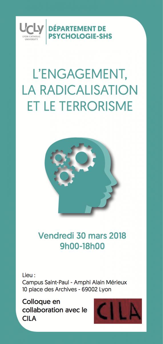 L'engagement, la radicalisation et le terrorisme