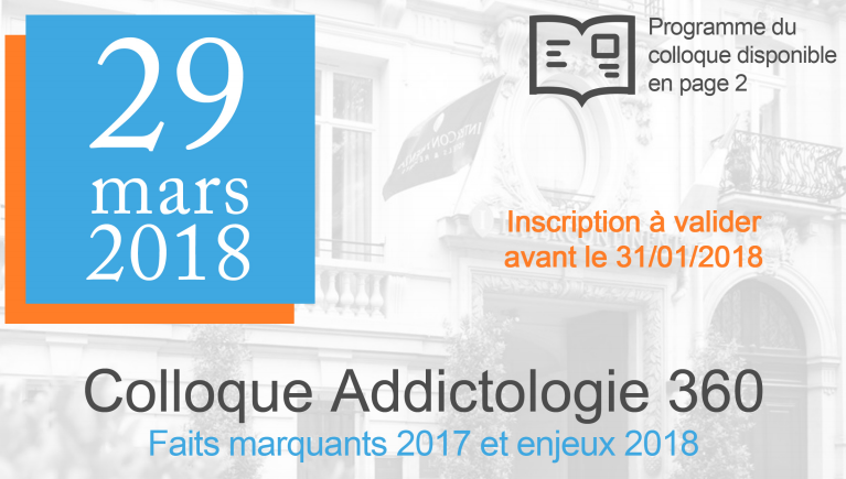 Colloque addictologie 360