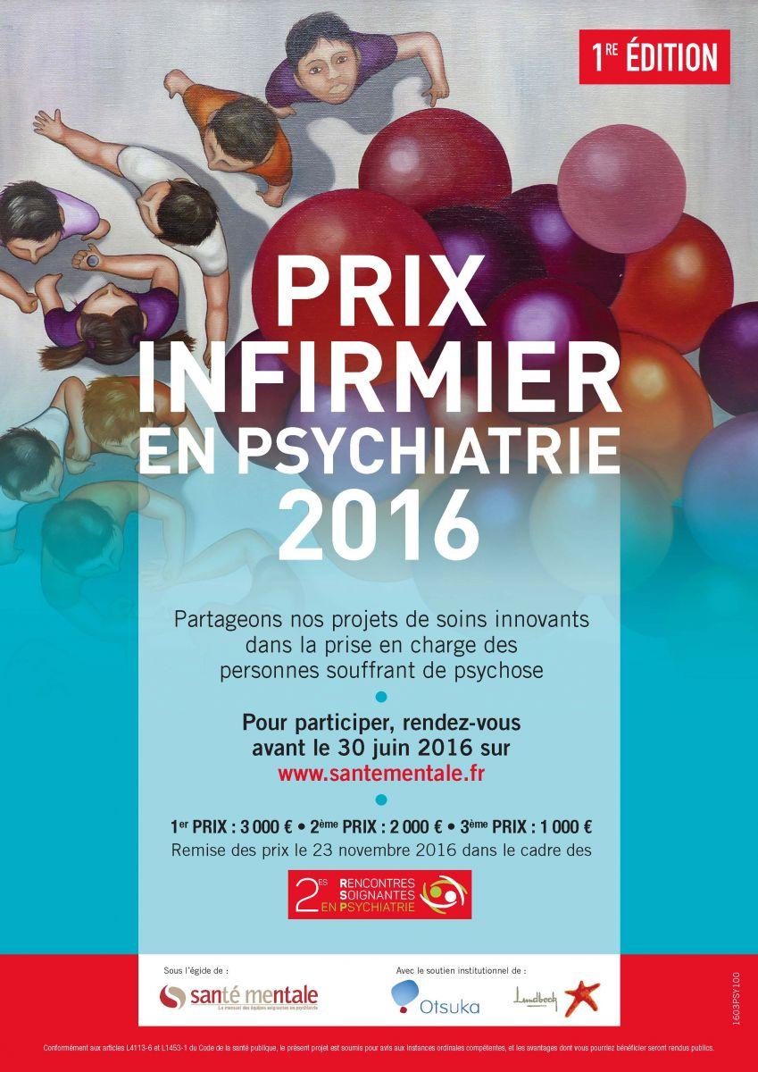 Prix infirmier en psychiatrie : partageons des projets de soins innovants !
