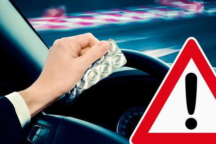 Conduite automobile et traitement psychotrope