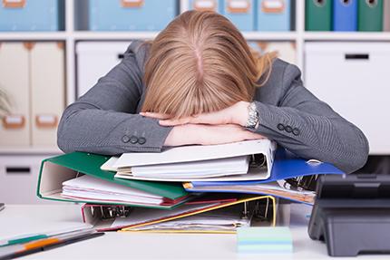 Hausse de affections psychiques liées au travail