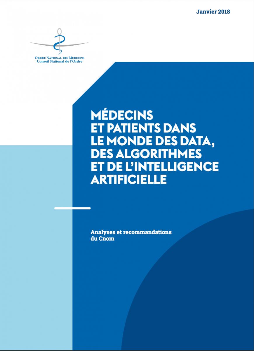 Médecins et patients dans le mondes des data, des algorithmes et de l'intelligence artificielle