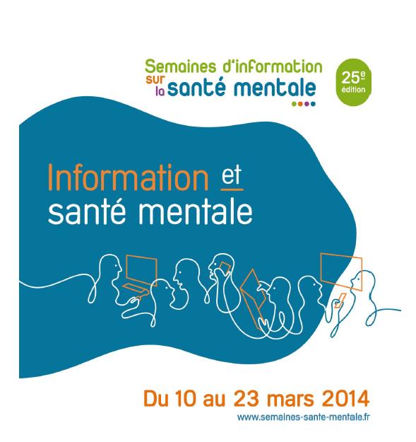 Du 10 au 23 mars : les 25emes semaines d'information sur la santé mentale !