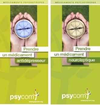 Médicaments : le Psycom propose deux brochures d'information