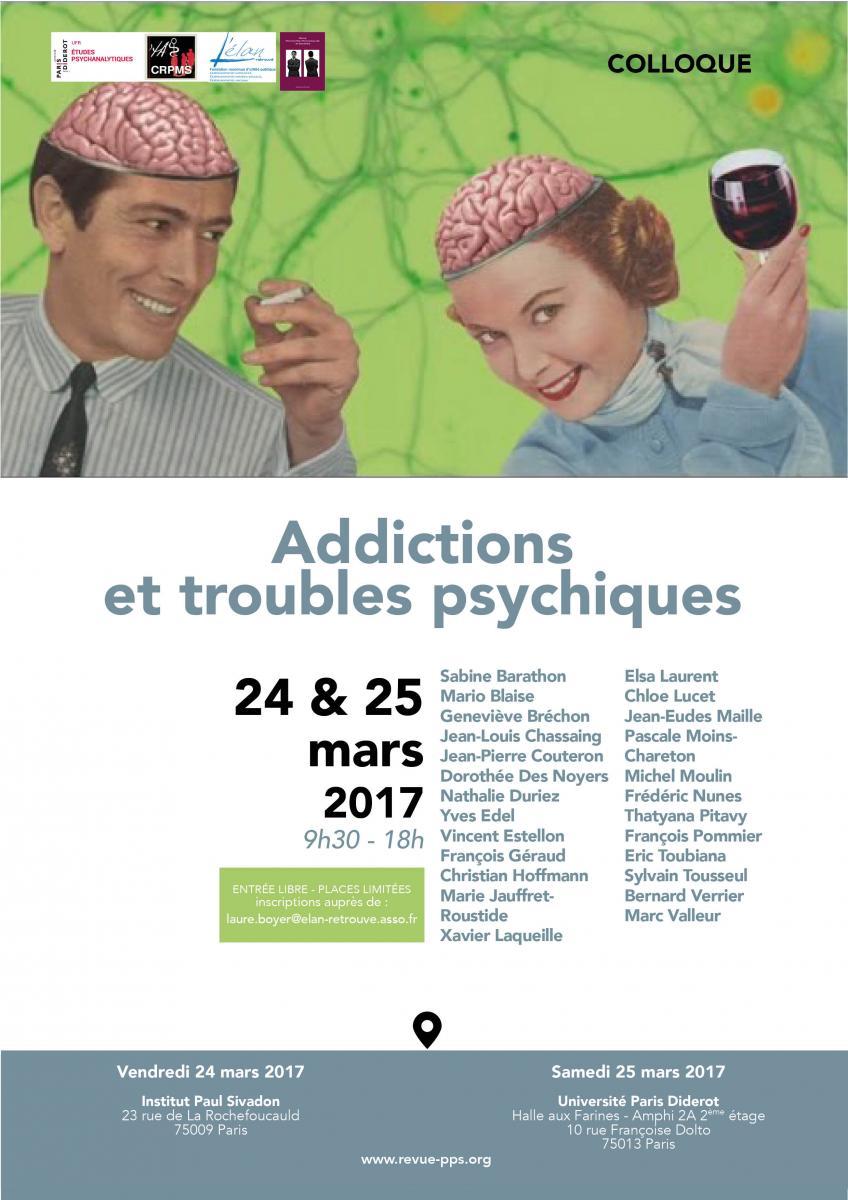 Addictions et troubles psychiques