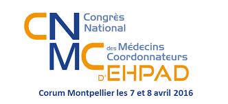 Congrès National des Médecins Coordonnateurs d'EHPAD