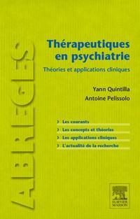 Thérapeutiques en psychiatrie