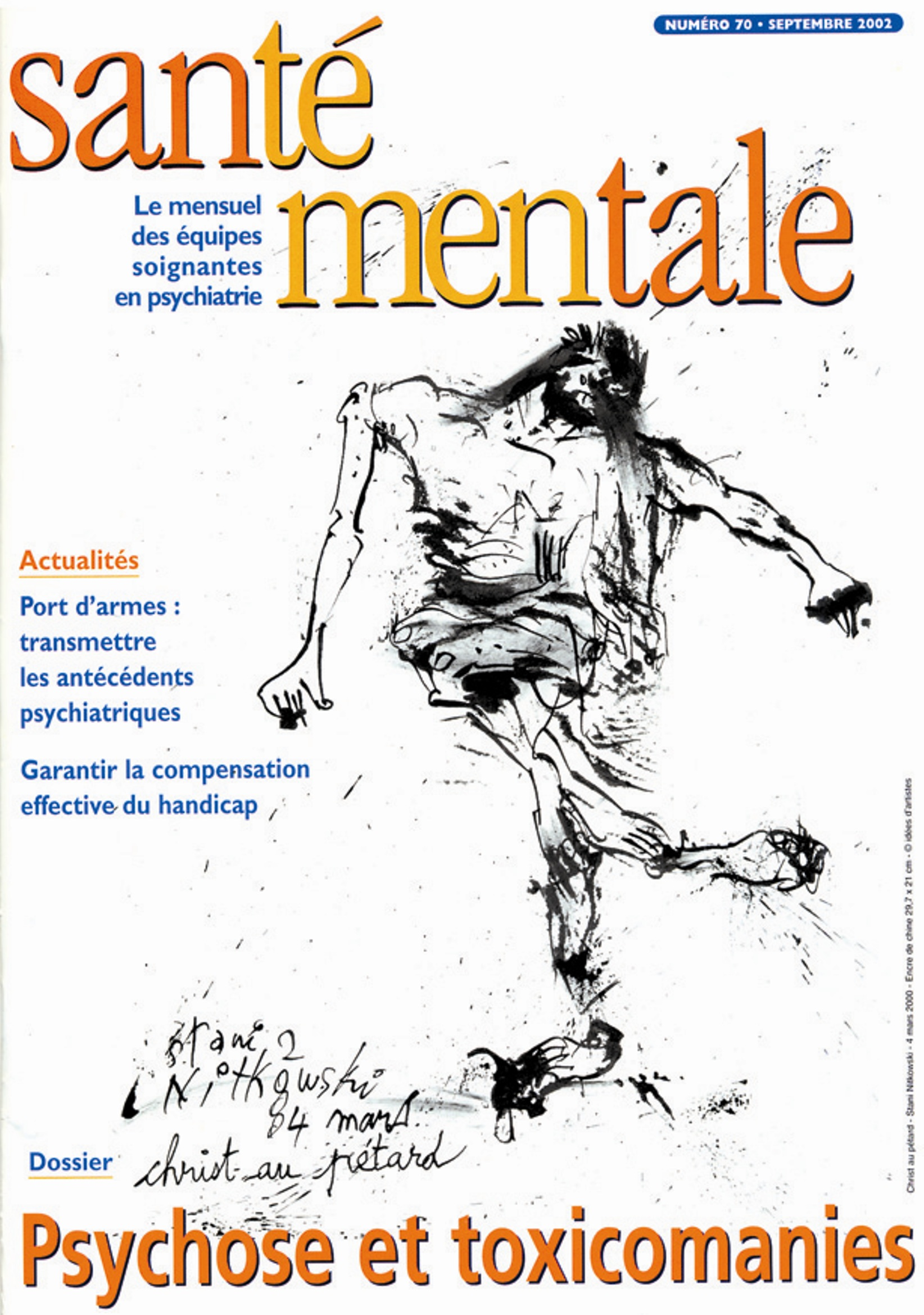 Couverture N°70 septembre 2002