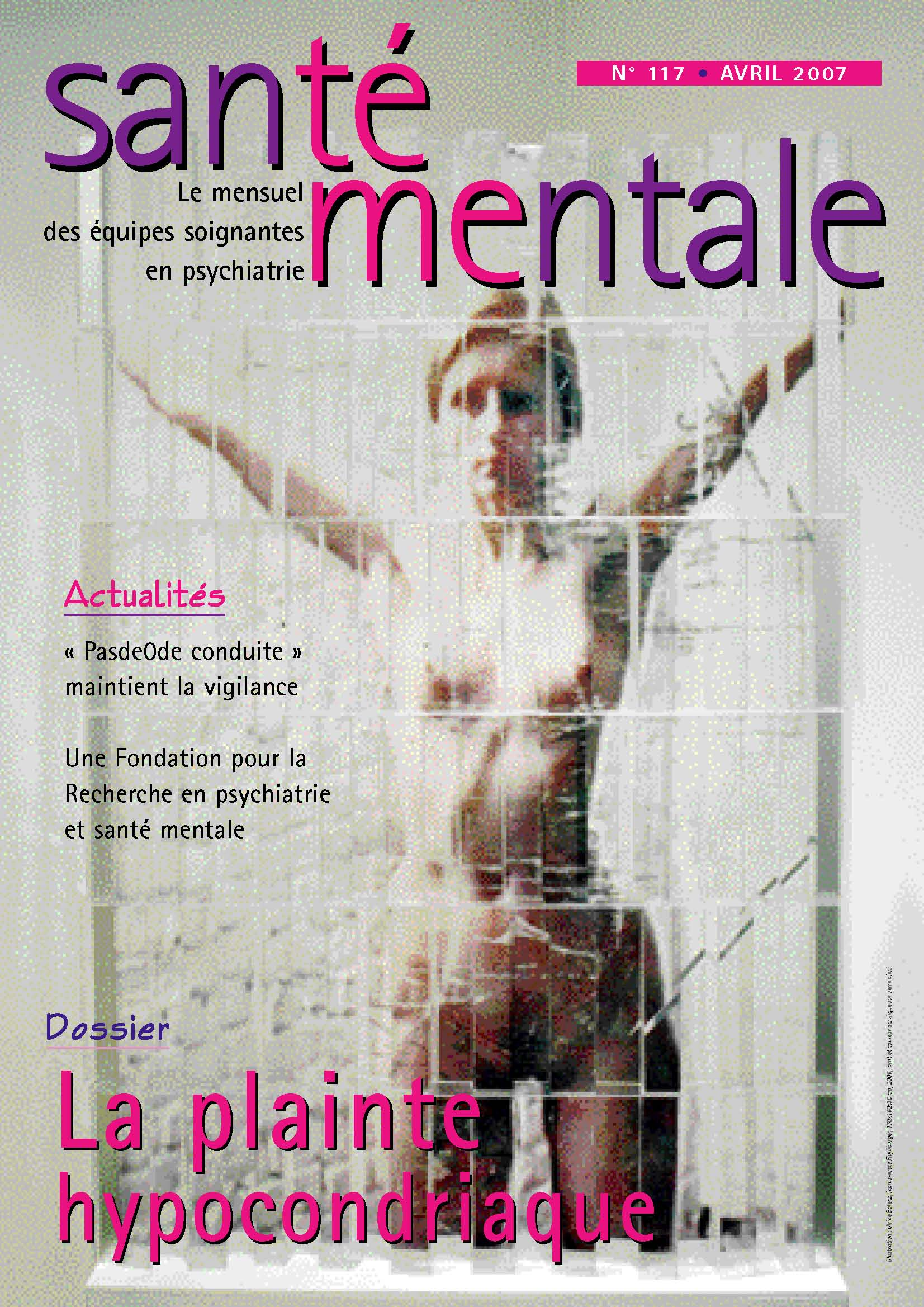 Couverture N°117 avril 2007