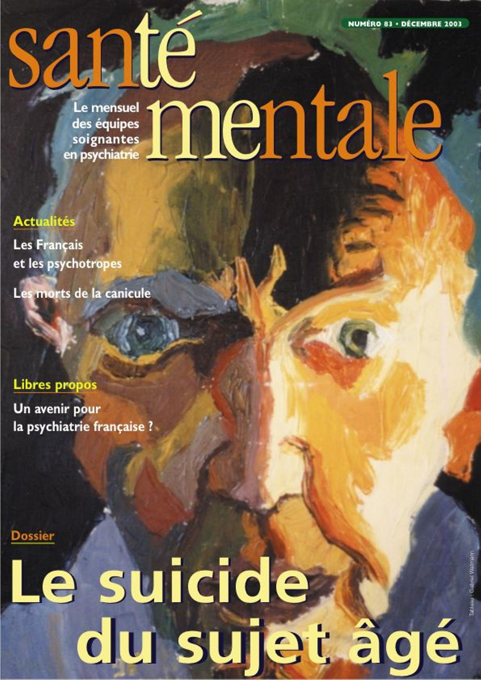 Couverture N°84 Janvier 2004