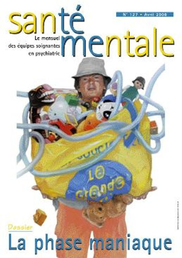 Couverture N°127 Avril 2008