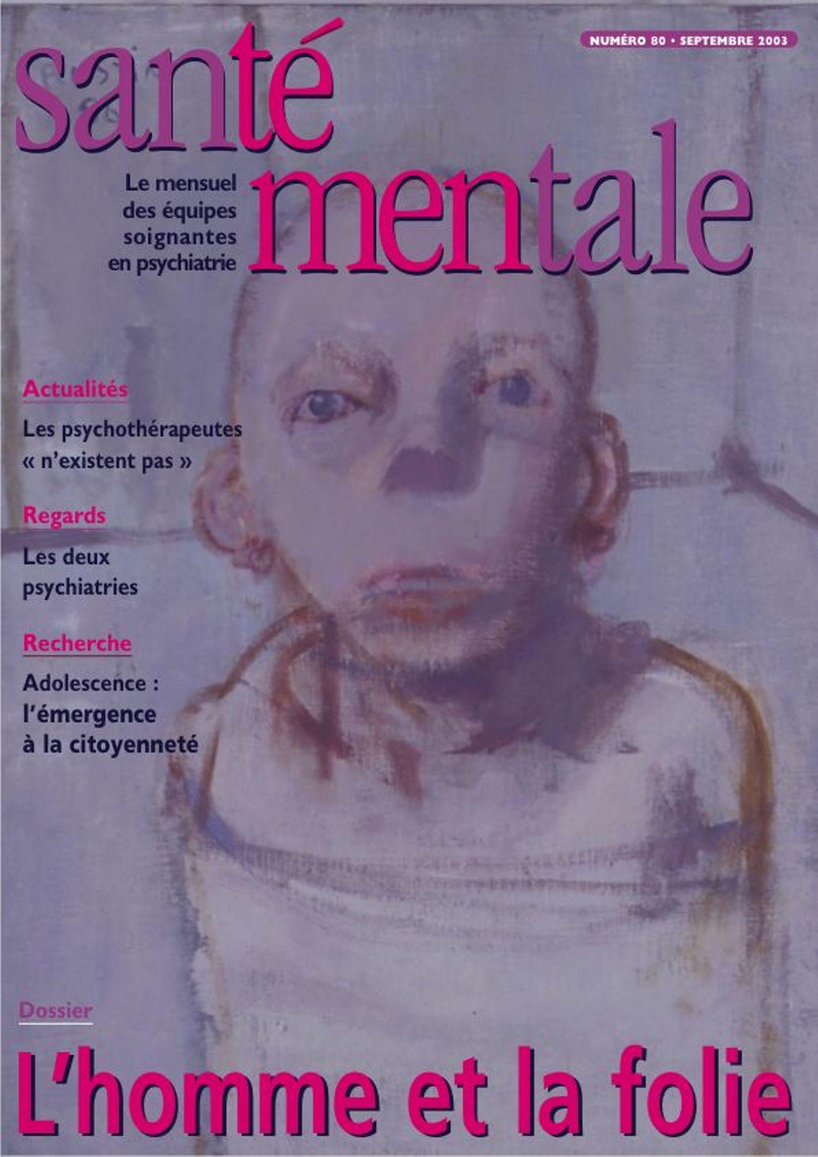 Couverture N°81 octobre 2003