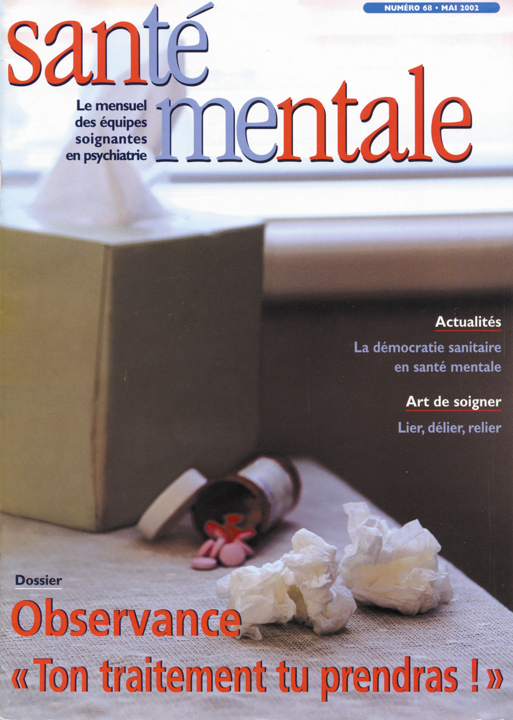 Couverture N°68 mai 2002