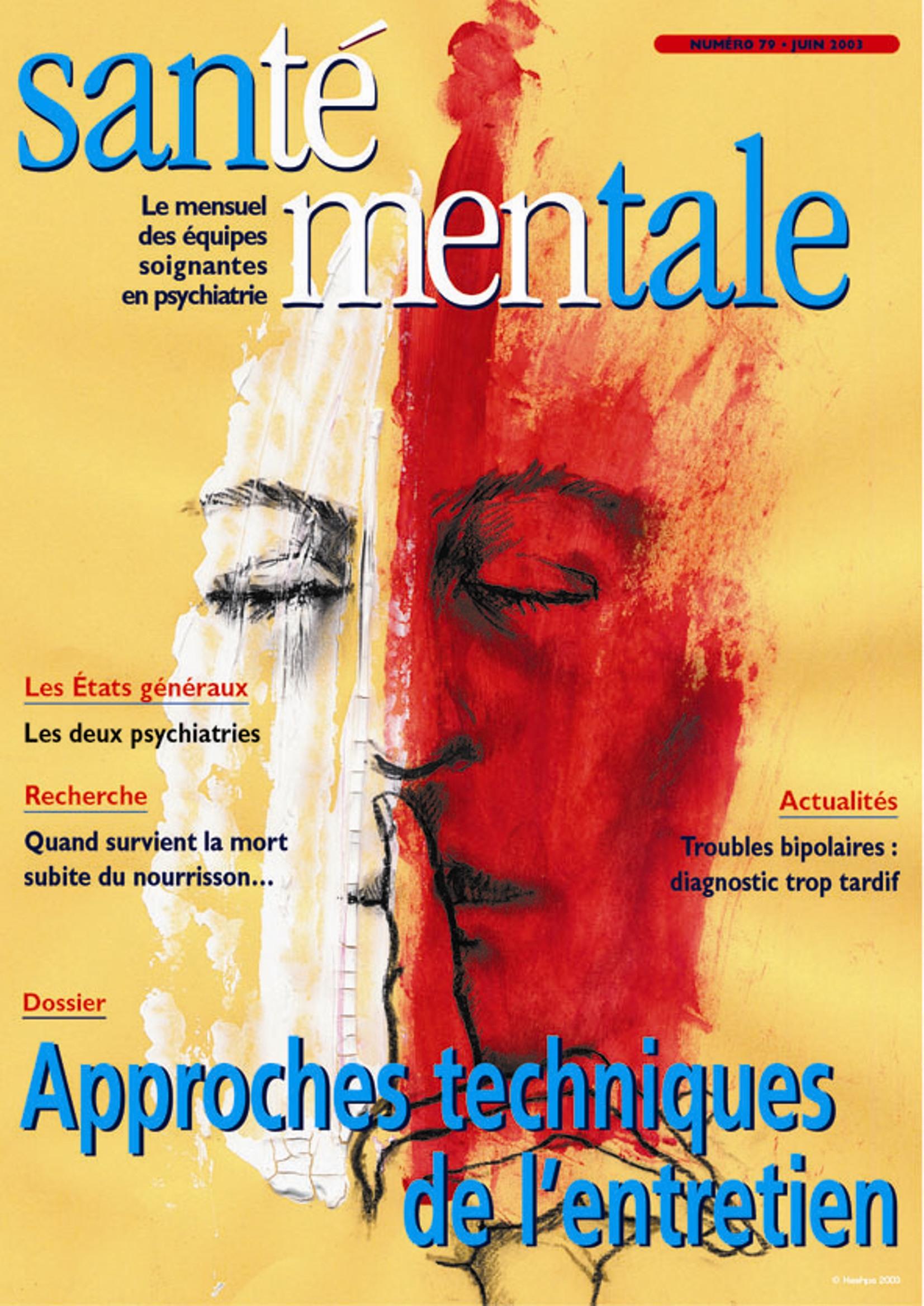 Couverture N°79 juin 2003
