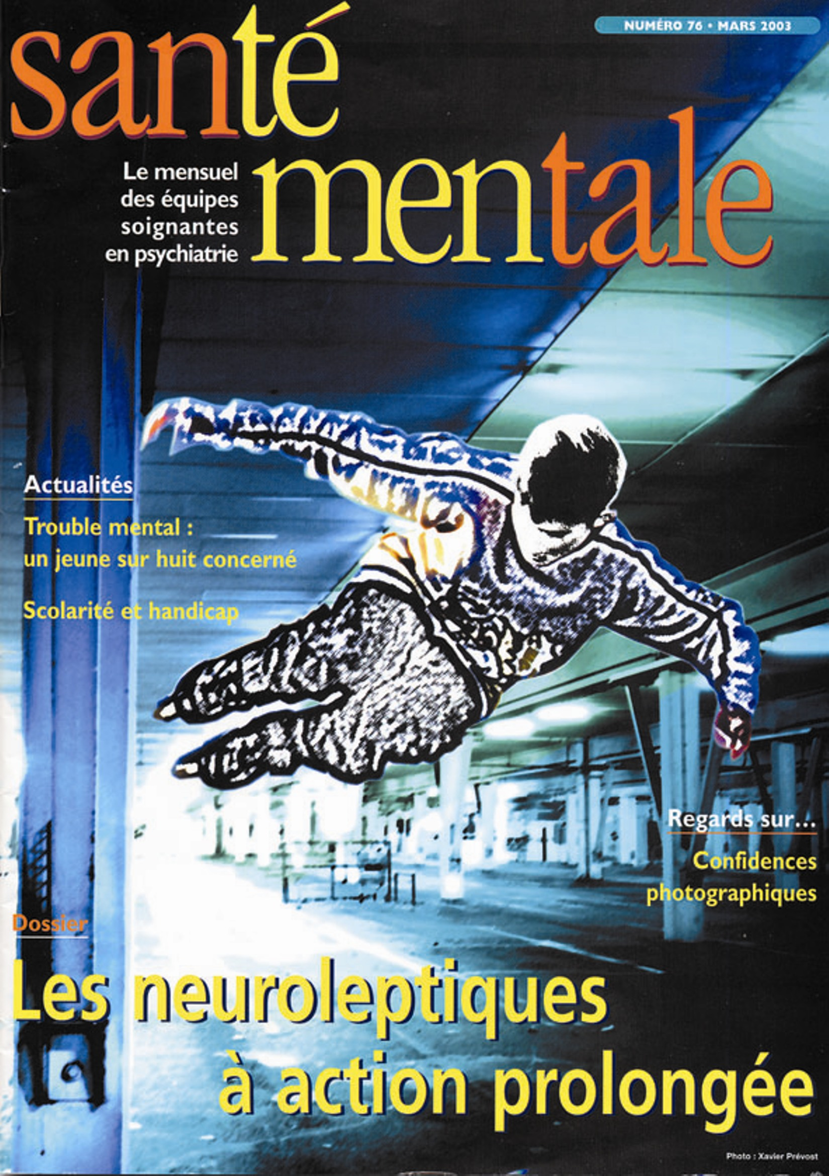 Couverture N°76 mars 2003