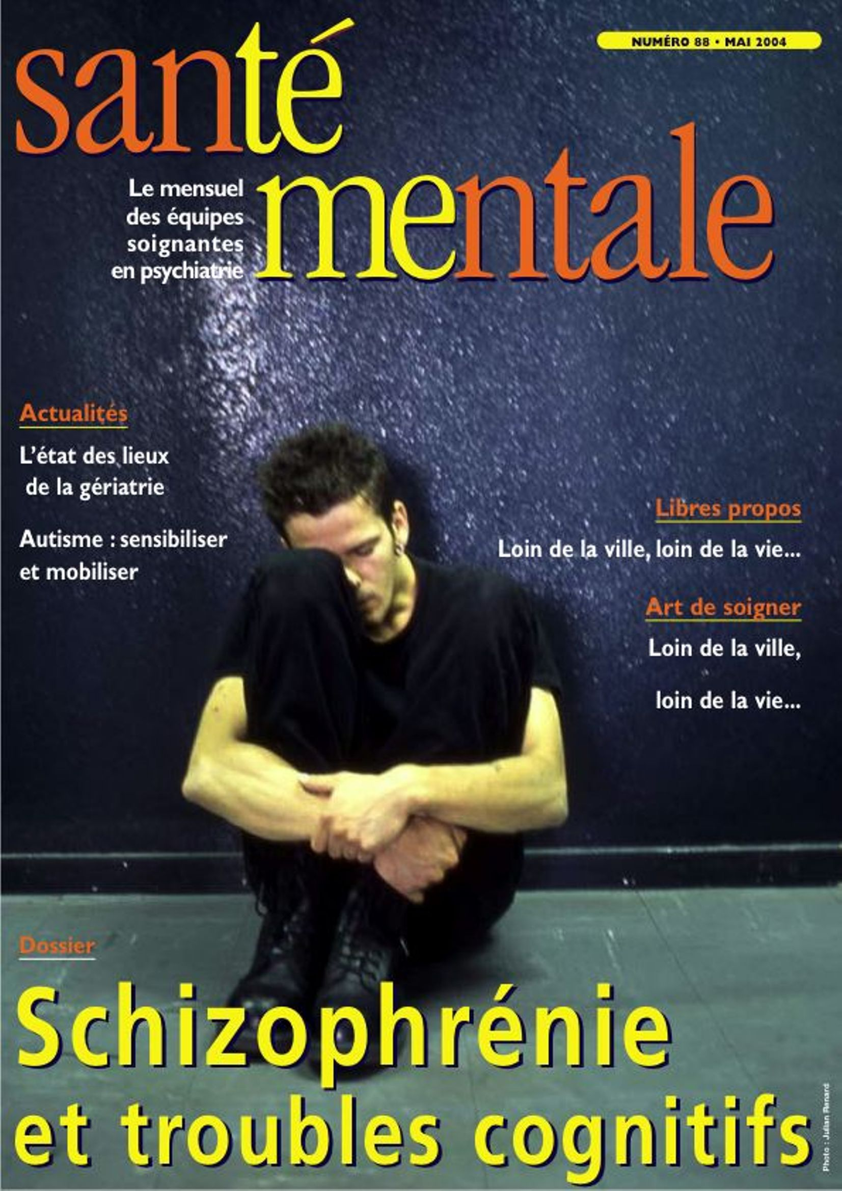 Couverture N°88 mai 2004
