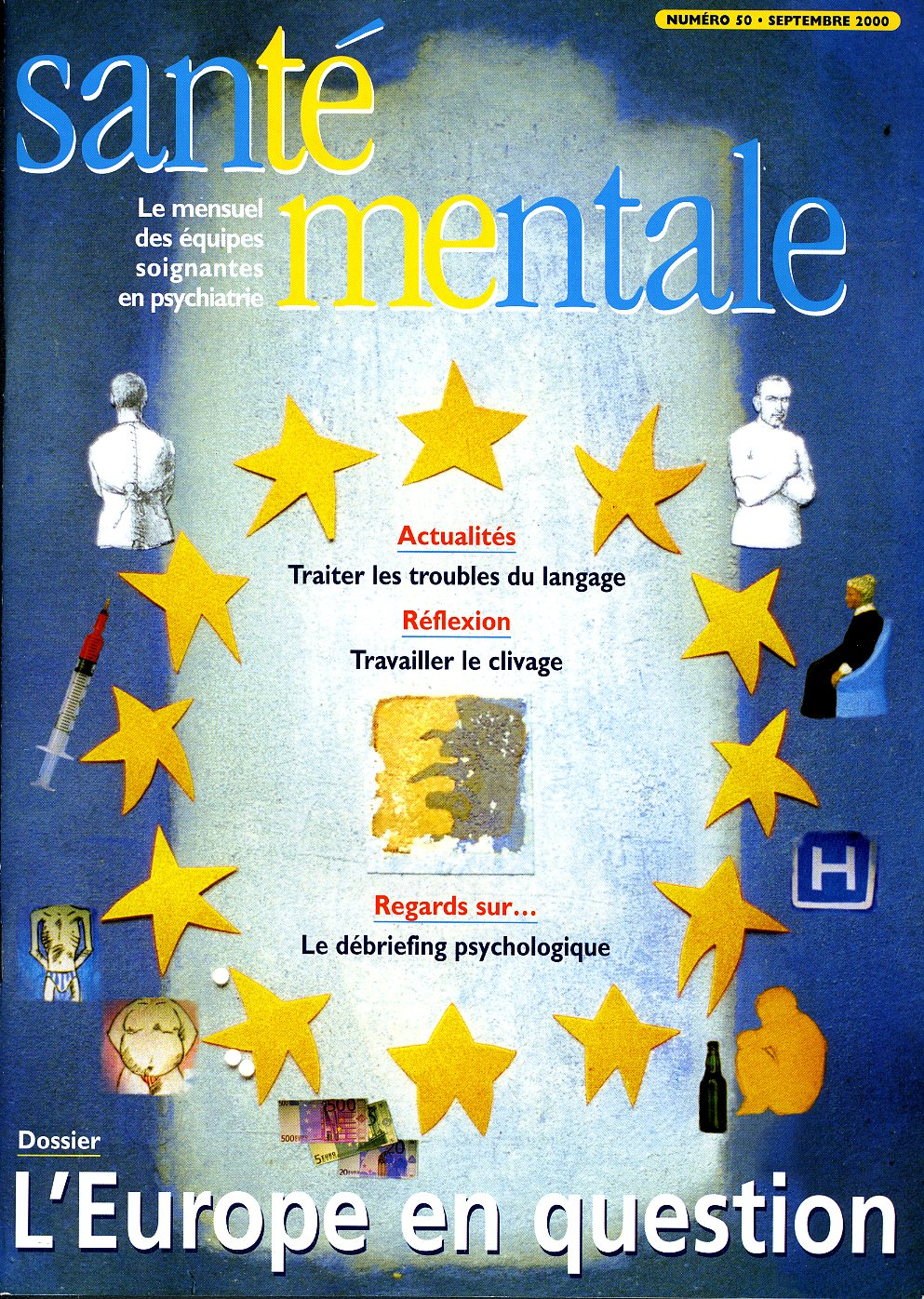 Couverture N°50 septembre 2000