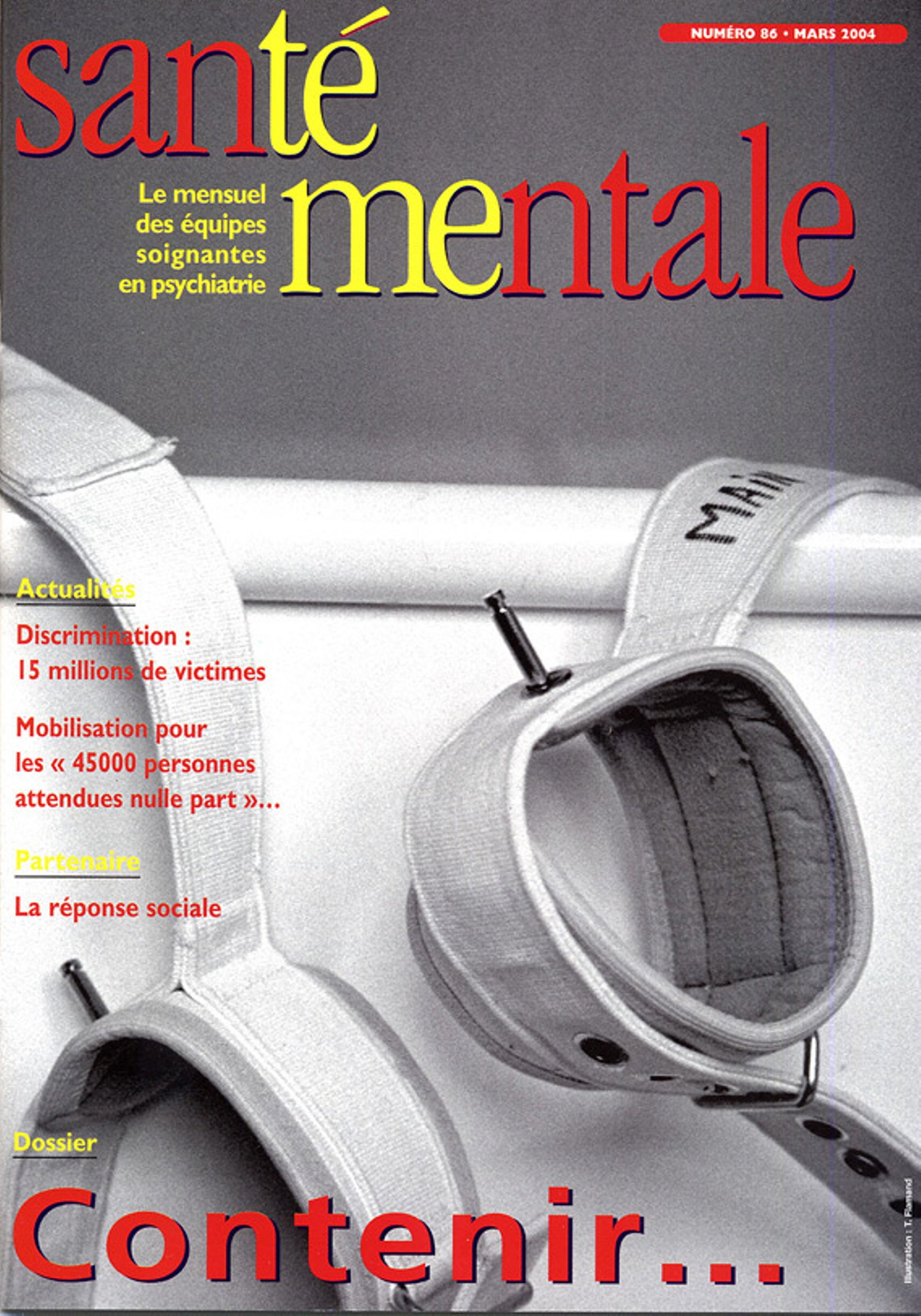 Couverture N°86 mars 2004