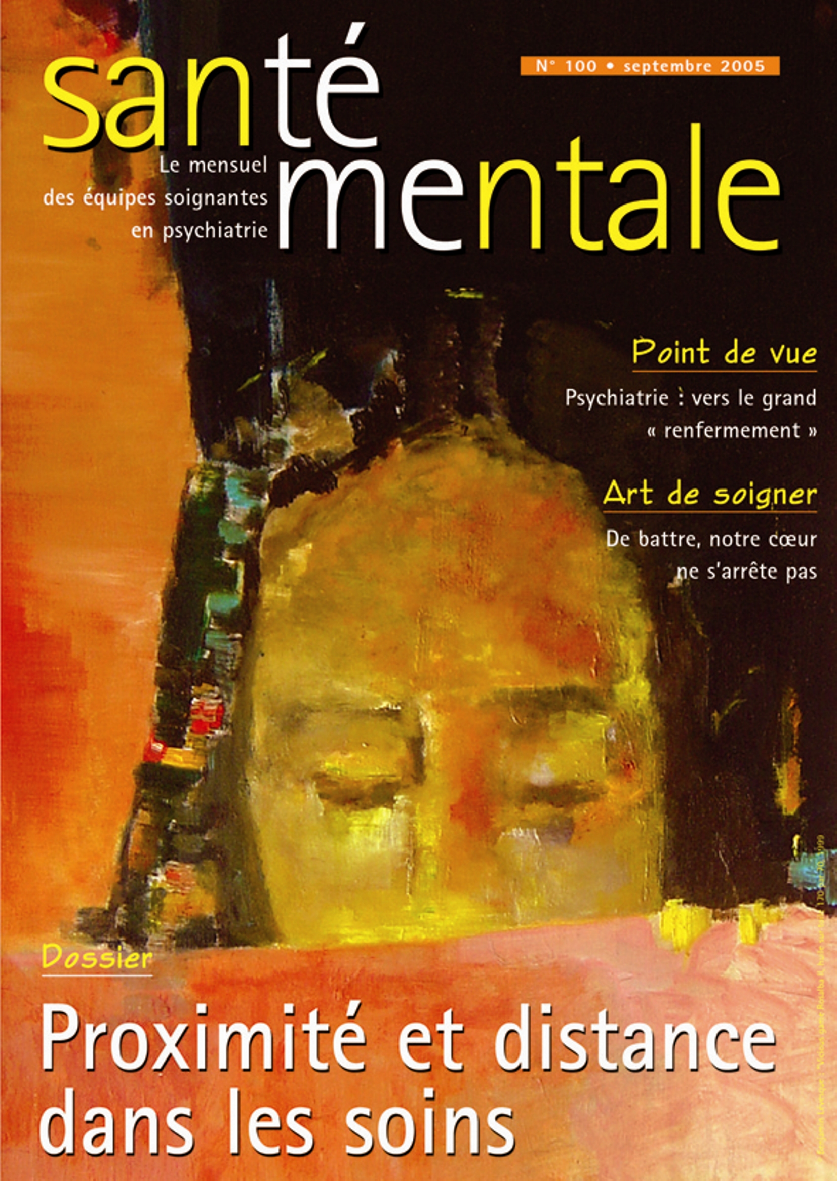 Couverture N°100 septembre 2005
