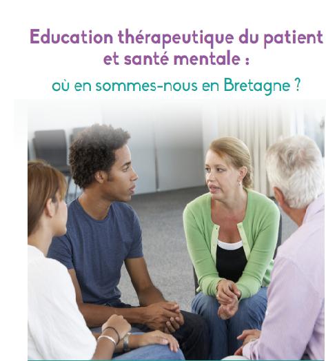 Education thérapeutique du patient et santé mentale: où en sommes-nous en Bretagne?
