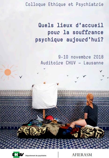 Quels lieux pour  d'accueil pour la souffrance psychique aujourd'hui ?