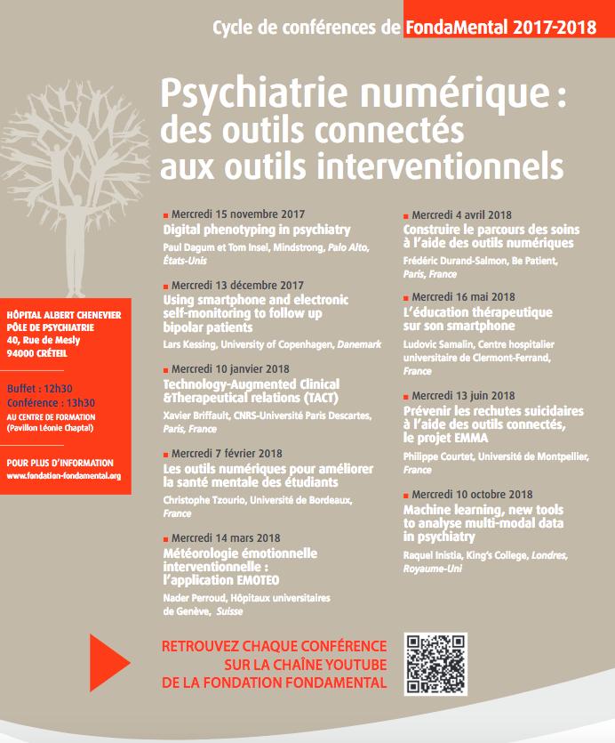 Psychiatrie numérique : des outils connectés aux outils interventionnels