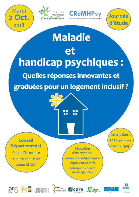 Maladie et handicap psychiques :quelles réponses innovantes et graduées pour un logement inclusif ?