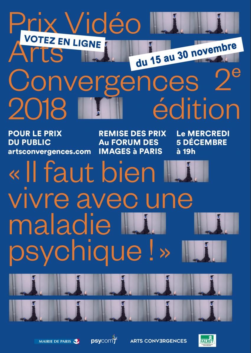 Prix vidéo Arts Convergences 2018, votez !