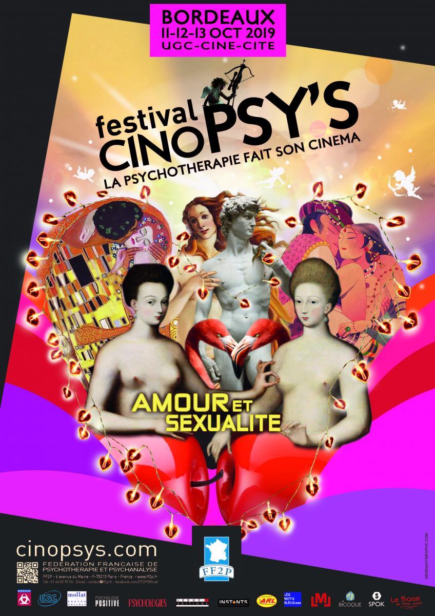 Festival CinoPSY'S 2019 : Amour et Sexualité