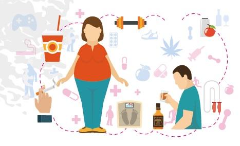Données actuelles en matière d'addictions et de TCA :Coordination et parcours