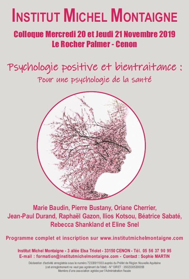 Psychologie positive et bientraitance : pour une psychologie de la santé
