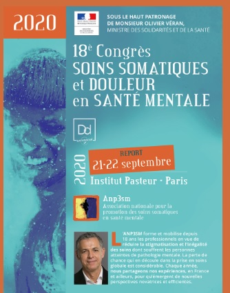 18e Congrès Soins somatiques et douleur en santé mentale